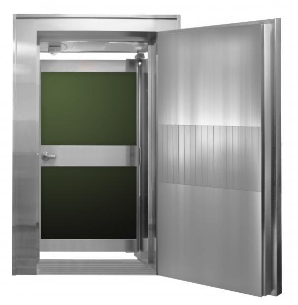 Vault Door With Day Gate